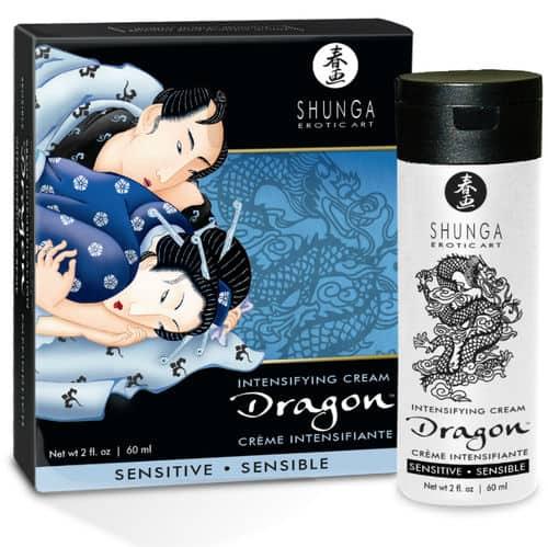 Crema Sensible Para La Pareja Dragon Frio Y Calor De Shunga