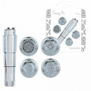 Estimulador Clitorial Microfono Plata