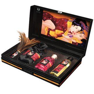 kit cosmetica erotica ternura y pasion de Shunga