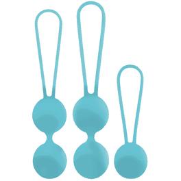 Kit bolas entrenamiento pelvico Amoressa OSIAN azules