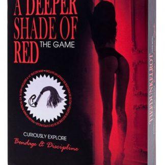 Juego erotico 50 sombras de rojo