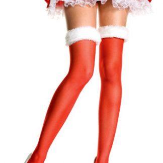 Medias rojas Mama Noel