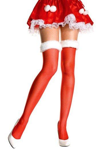 Medias rojas Mama Noel 1