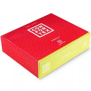 Caja De Preservativos Aroma Fresa De CONFORTEX 144 UNID