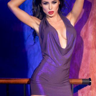 Vestido lila de CHILIROSE talla SM