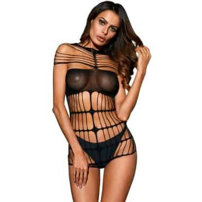 body negro de QUEEN LINGERIE talla unica