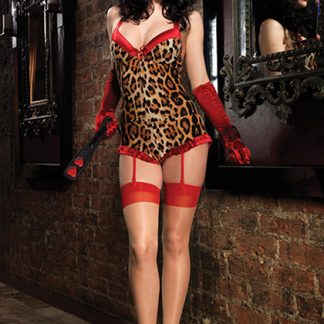 body pin up leopardo de LEG AVENUE