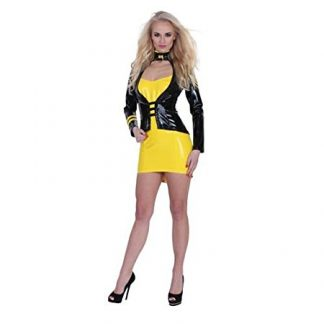 disfraz de latex DOMINATRIX DE GP 2 piezas talla L