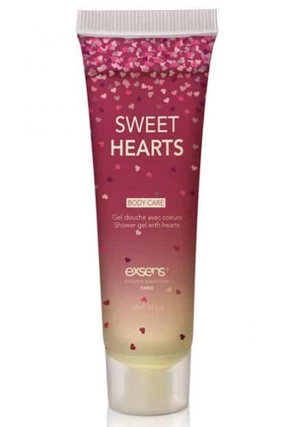 Gel de baño con corazones 100 ML