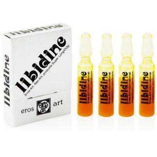 Afrodisiaco natural potenciador de la libido Libidine 4 ampollas
