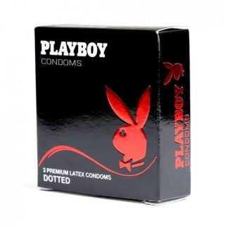 Caja Preservativos Playboy Con Puntos 3 Unid