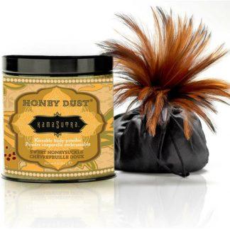 polvos corporales de miel madreselva dulce de Kamasutra