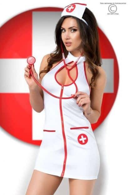 Disfraz erótico de enfermera