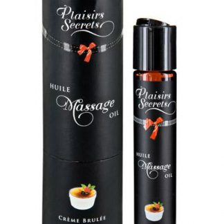 aceite de masaje crema brulée Plaisirs Secrets