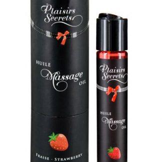 aceite de masaje fresa Plaisirs Secrets