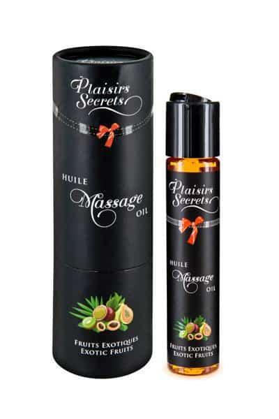 aceite de masaje frutas exoticas Plaisirs Secrets