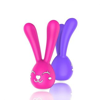 vibrador conejito Nancy recargable color lila