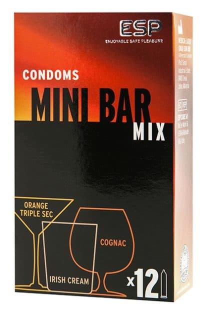 caja mix preservativos coctel