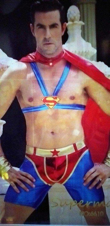 Disfraz Superman 4 piezas talla unica 1