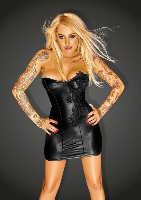 Vestido corset negro talla M 1