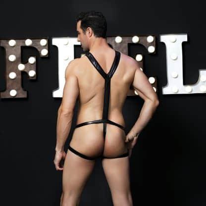 body sexy negro espalda