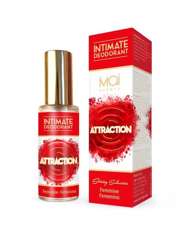 Desodorante intimo femenino con feromonas 1