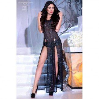 Vestido-negro-con-capucha-talla-SM