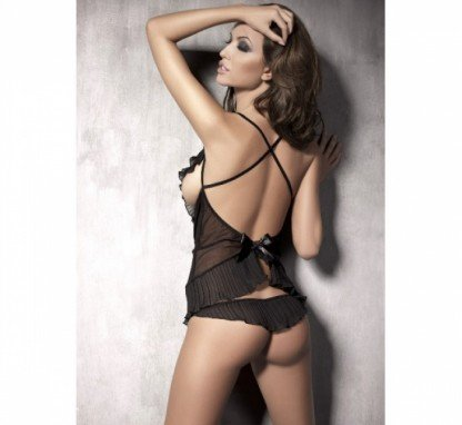 Conjunto-sensual-negro-de-2-piezas-espalda